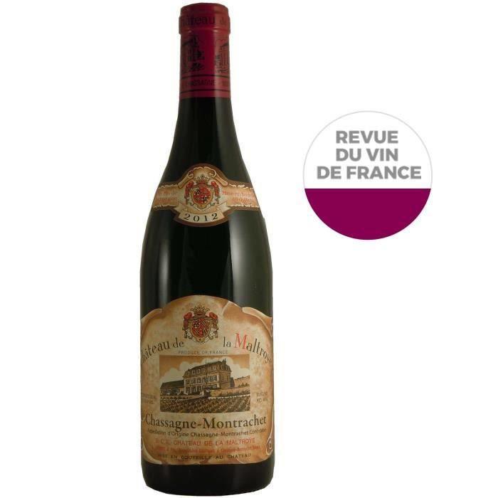 Château de la Maltroye 2012 Chassagne Montrachet - Vin rouge de Bourgogne