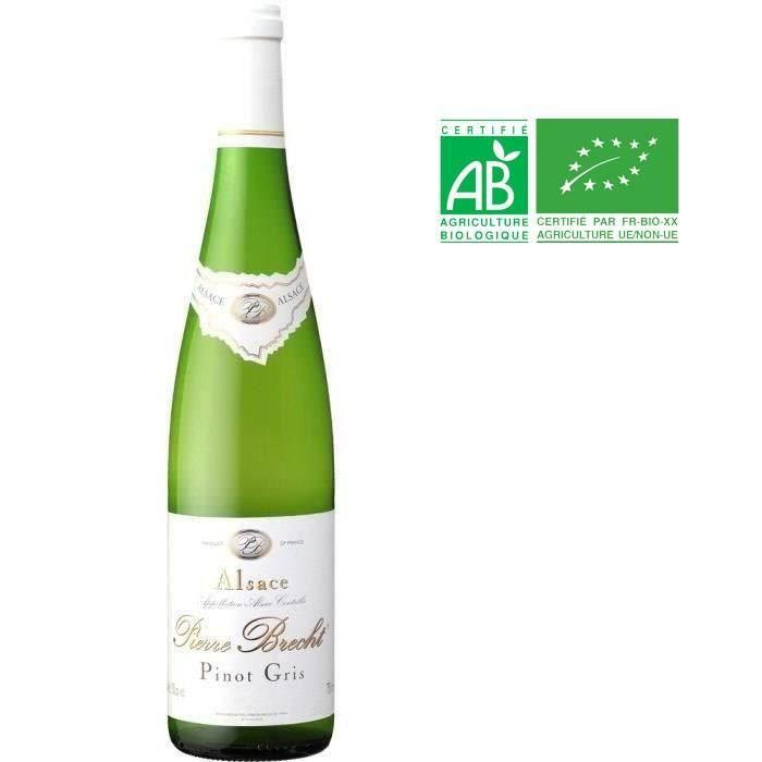 Pierre Brecht Pinot Gris Réserve - Vin blanc d'Alsace
