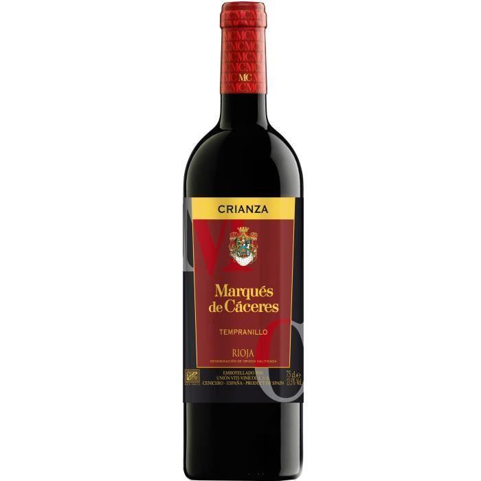 Marqués de Cáceres 2016 Crianza - Vin rouge d'Espagne