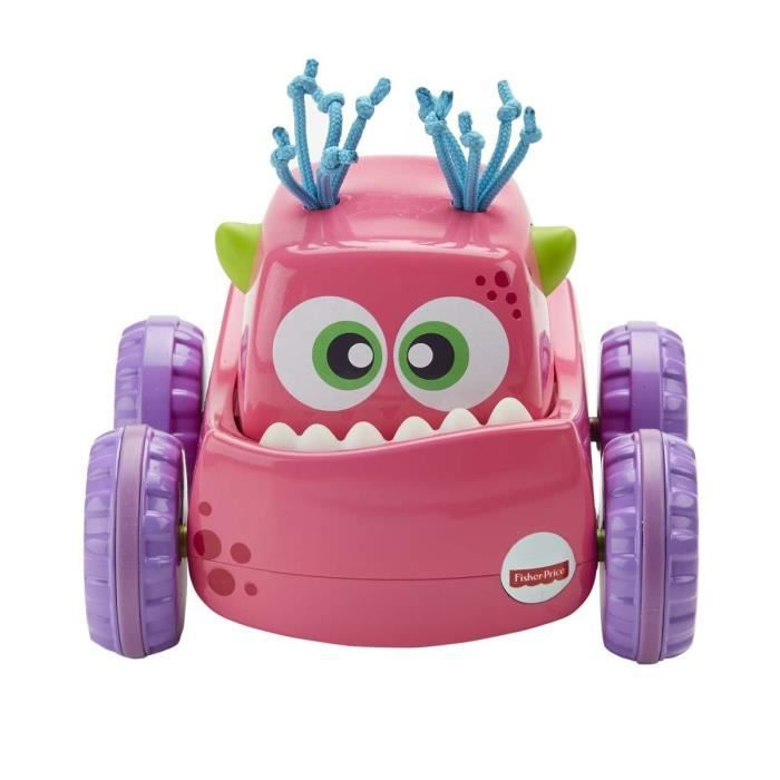 FISHER-PRICE - Camion monstre surprise rose