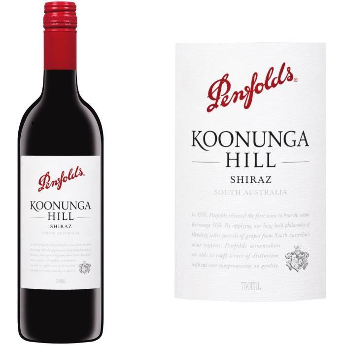 Penfolds Koonunga Hill Shiraz - Vin rouge d'Australie