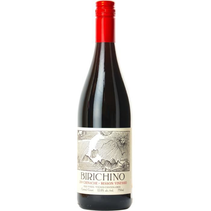 Birichino 2015 Besson Vineyard Grenache - Vin rouge des Etats-Unis