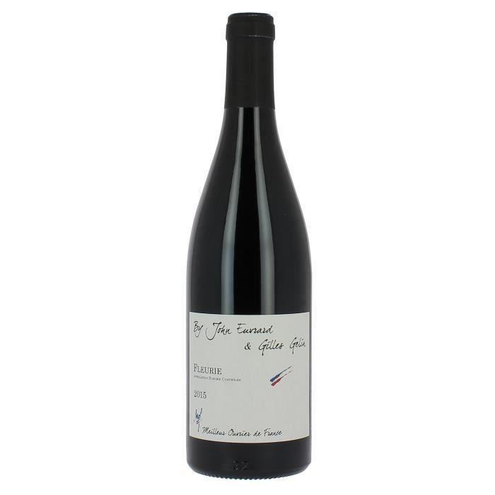 Gilles Gelin Cuvée John Euvrard Meilleur Ouvrier de France 2015 Fleurie - Vin rouge du Beaujolais