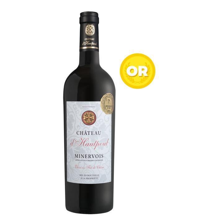 Château d'Hautpoul 2017 Minervois et La Livinière - Vin Rouge du Languedoc-Roussillon