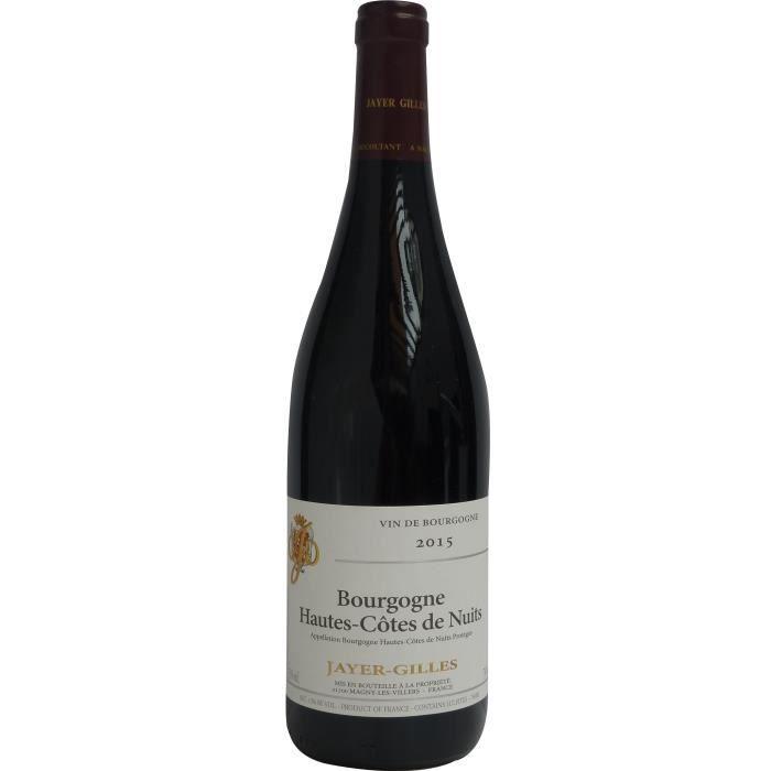 Jayer-Gilles 2015 Bourgogne Hautes-Côtes de Nuits - Vin rouge de Bourgogne