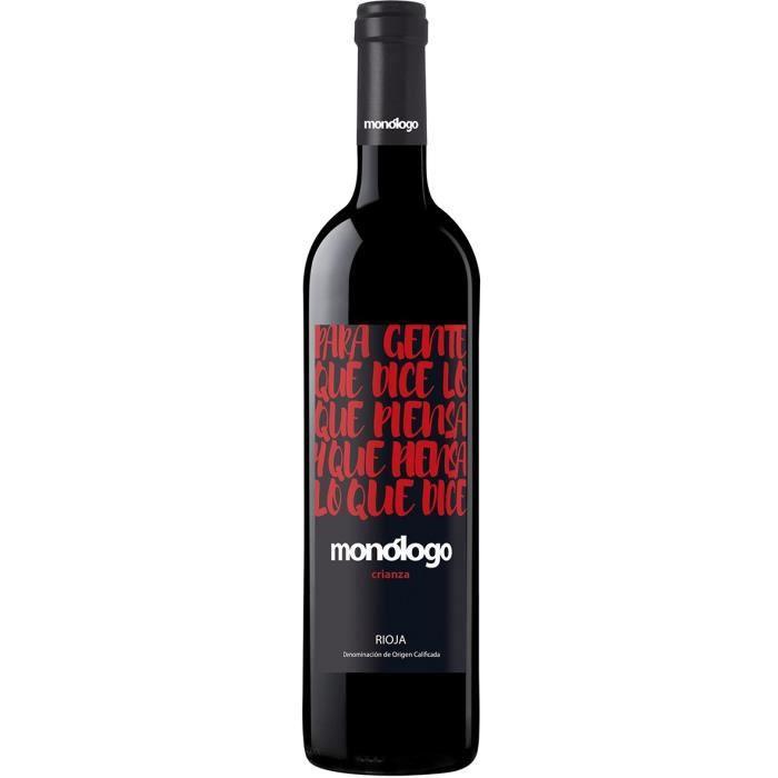Monologo 2016 Crianza - Vin rouge d'Espagne