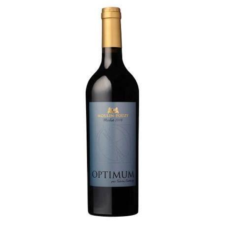 Domaine du Moulin-Pouzy Optimum 2015 Bergerac - Vin rouge du Sud-Ouest