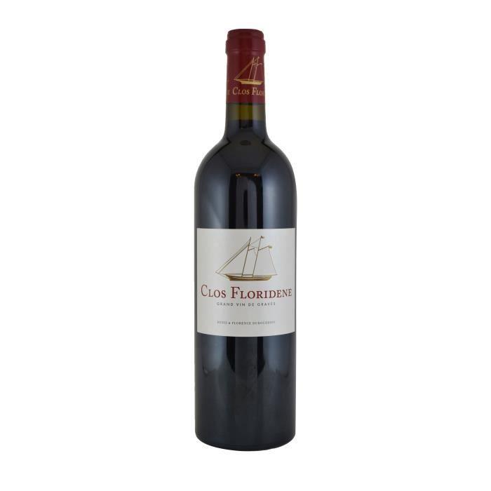 Clos Floridène 2016 Graves - Vin rouge de Bordeaux