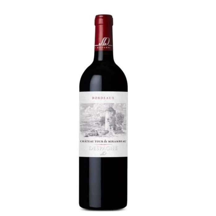 Château Tour De Mirambeau 2016 Bordeaux Supérieur - Vin rouge de Bordeaux