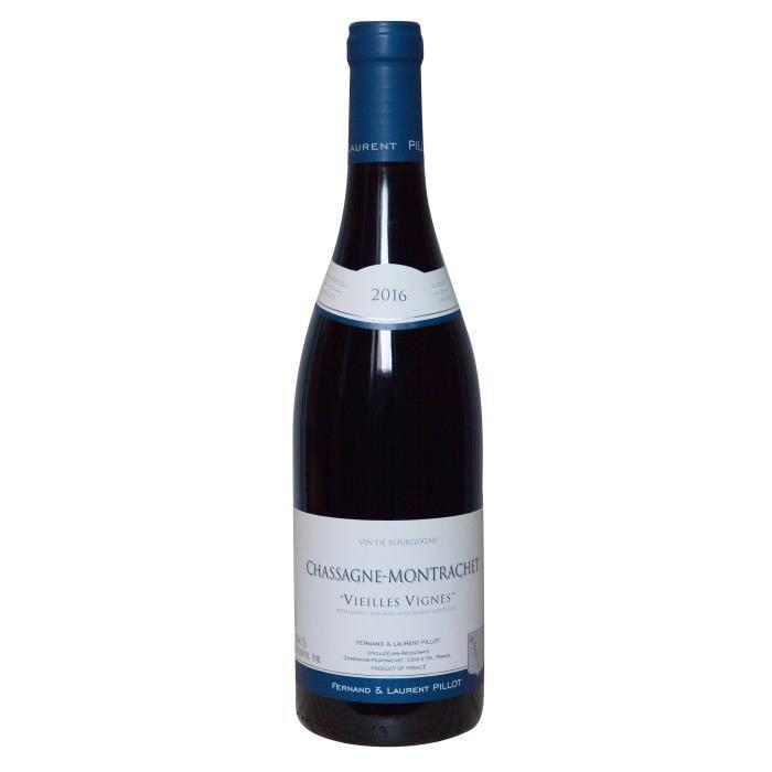 Fernand & Laurent Pillot 2016 Chassagne-Montrachet Vieilles Vignes - Vin rouge de Bourgogne