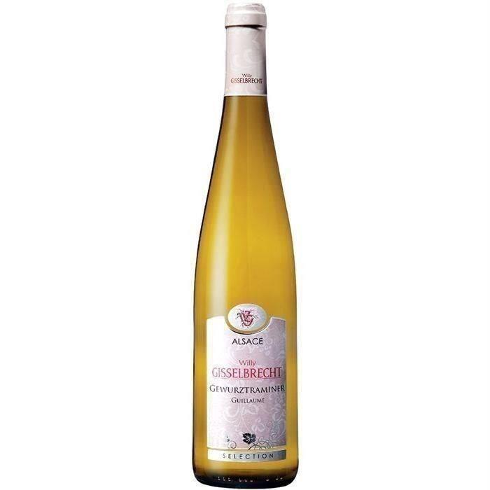 Gisselbrecht Cuvée Guillaume 2018 Gewürztraminer - Vin blanc d'Alsace