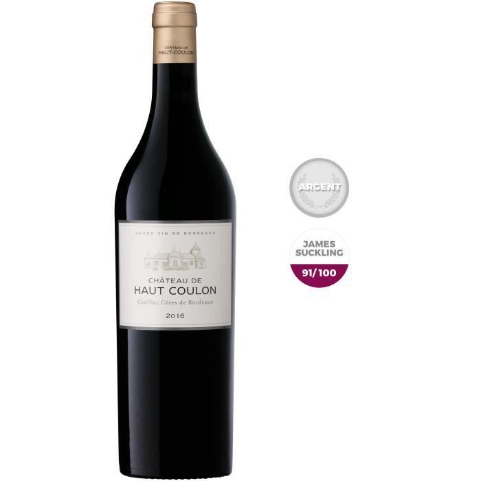 Château De Haut Coulon 2016 Cadillac Côtes de Bordeaux - Vin rouge de Bordeaux