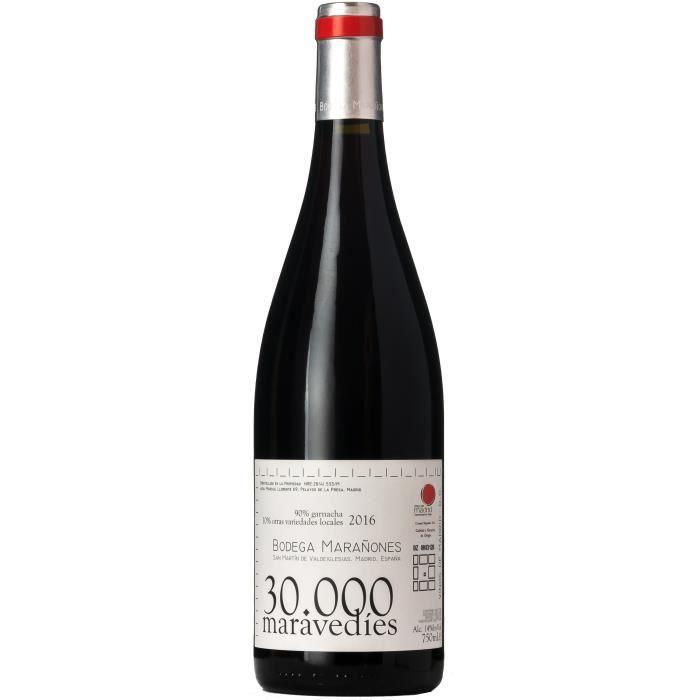 Marañones 30000 Maravedies 2016 DO Madrid - Vin rouge Espagne