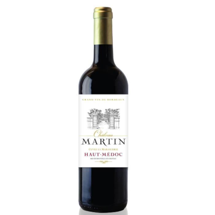 Château Martin 2016 Haut Médoc - Vin rouge de Bordeaux