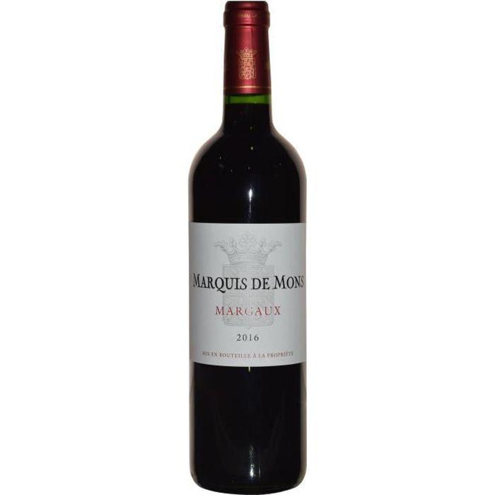 Marquis de Mons 2016 Margaux - Vin rouge de Bordeaux