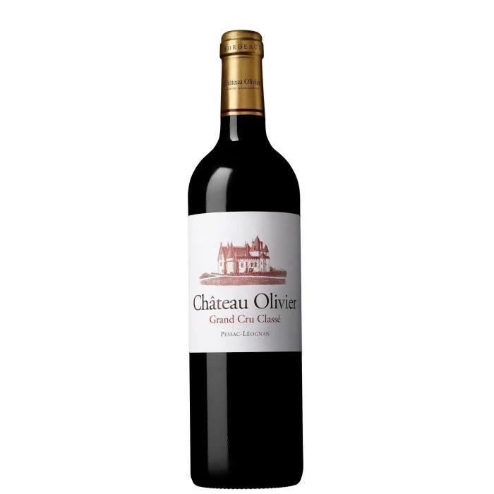 Château OLIVIER 2016 Grand Cru Classé Pessac Léognan - Vin Rouge du Bordelais