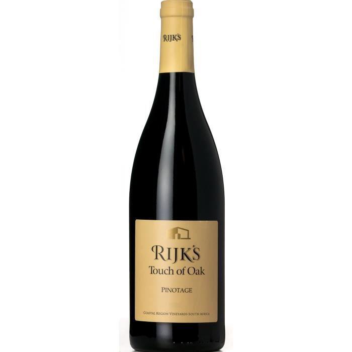 Rijk's 2016 Touch Oak Pinotage - Vin rouge d'Afrique du Sud