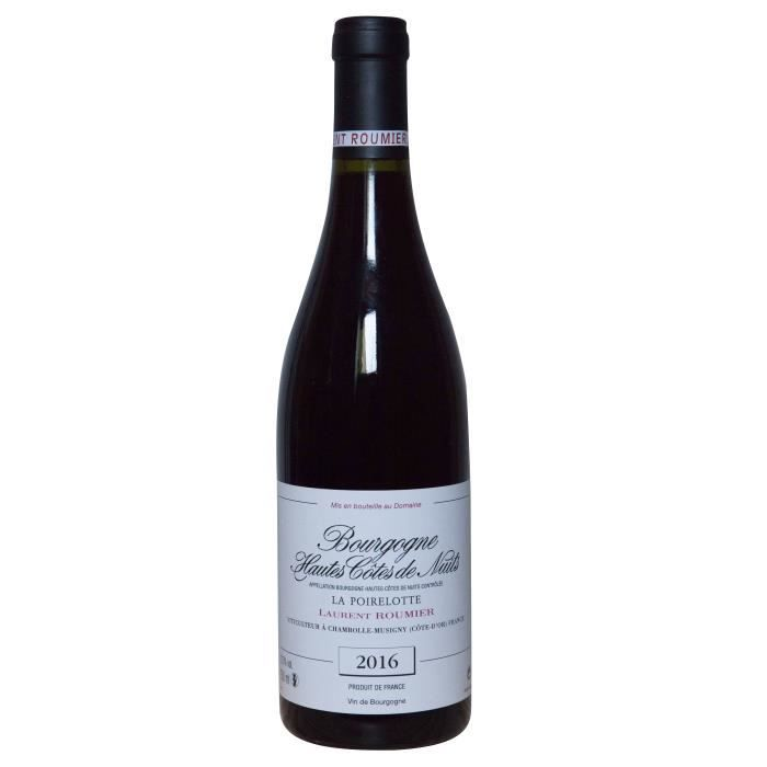 Laurent Roumier 2016 Bourgogne Hautes Côtes de Nuits La Poirelotte - Vin rouge de Bourgogne