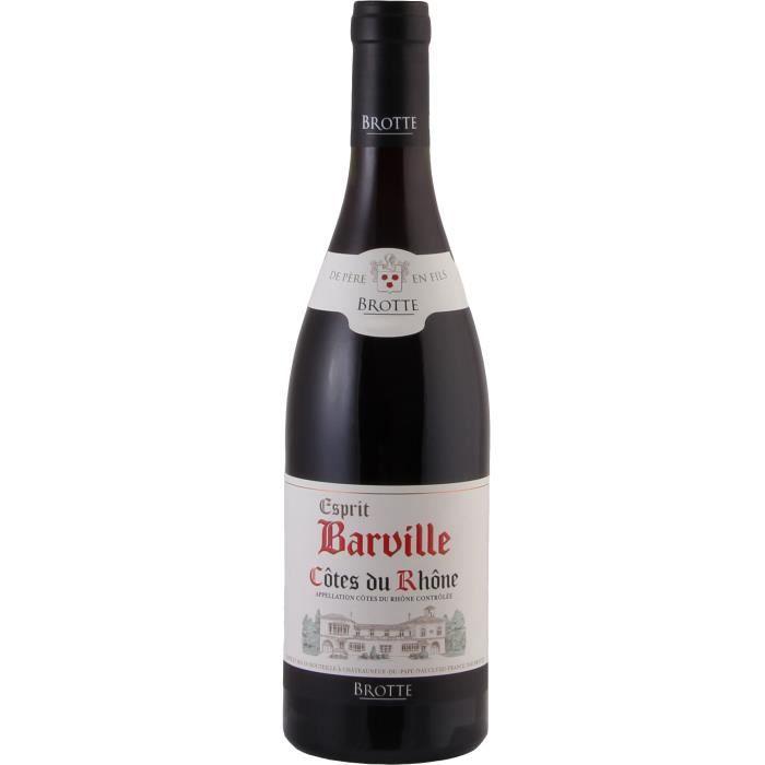 Barvill 2017 Côtes du Rhône - Vin rouge des Côtes du Rhône
