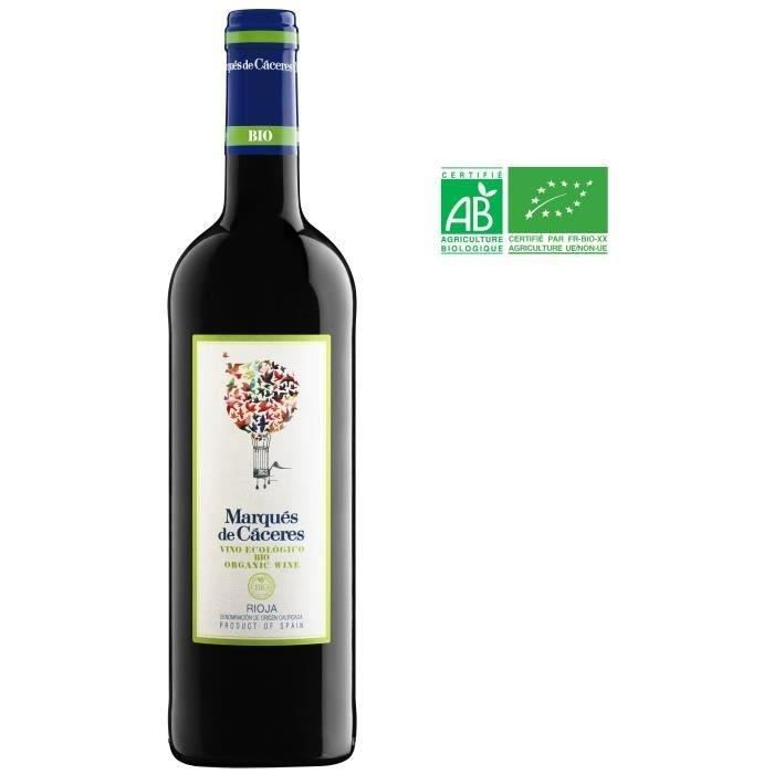 Marqués de Cáceres 2017 Rioja - Vin rouge d'Espagne - Bio