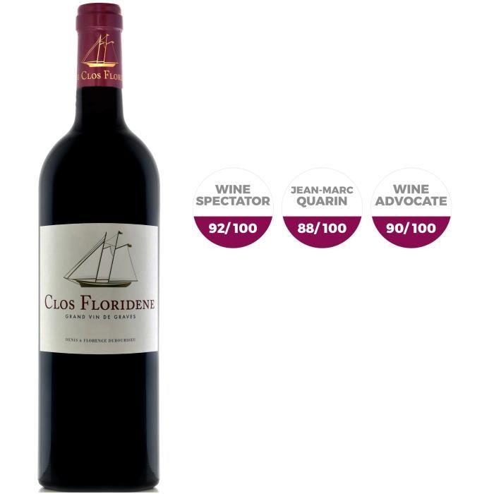Clos Floridène 2017 Graves - Vin rouge de Bordeaux
