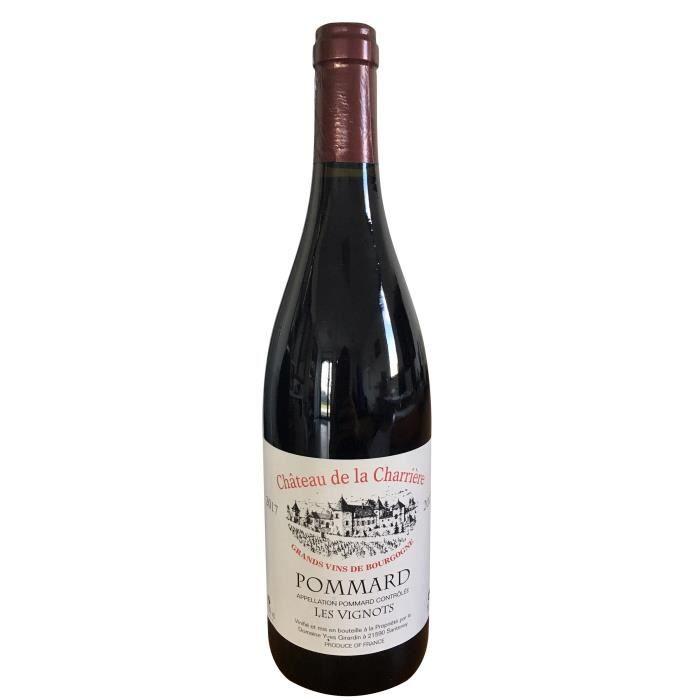 Château de la Charrière 2017 Pommard Cuvée Vignots - Vin rouge de Bourgogne