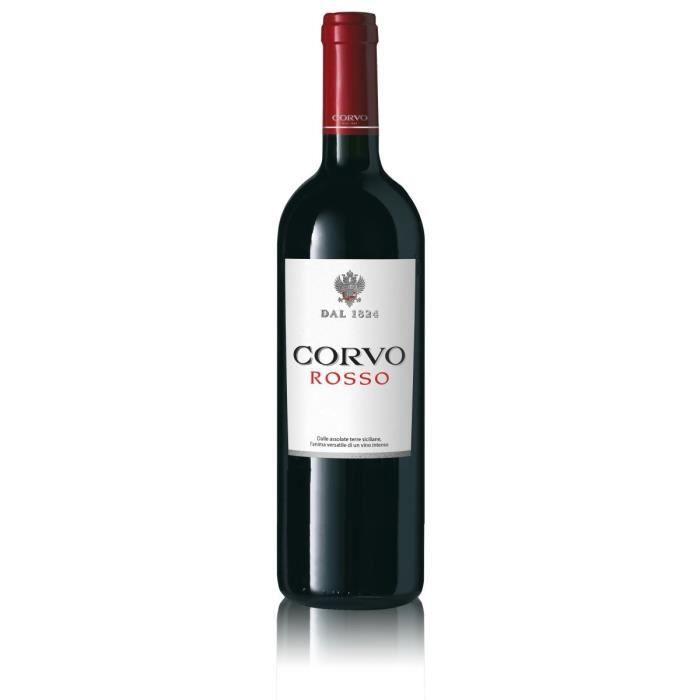 Corvo Rosso 2018 Sicilia - Vin rouge d'Italie