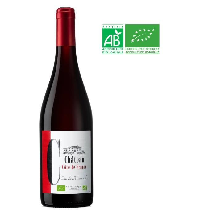 Château Côte de France Bio 2017 Cotes Du Marmandais - Vin Rouge du Sud-Ouest