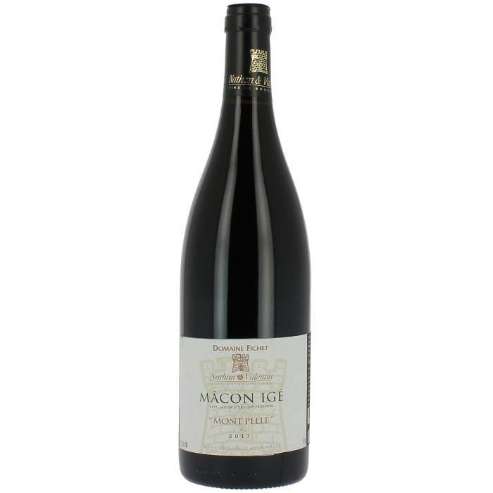 Domaine Fichet -Mont Pellé- 2017 Macon Igé - Vin rouge de Bourgogne