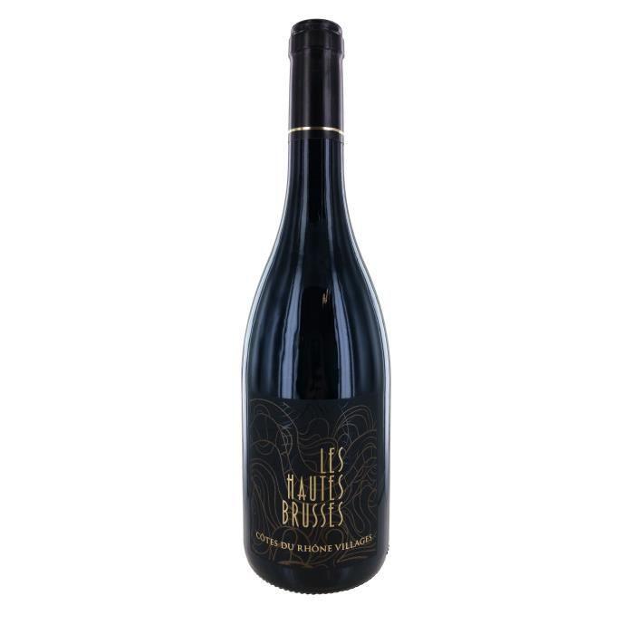 Les Hautes Brusses 2017 Côtes du Rhône Village Vin Rouge