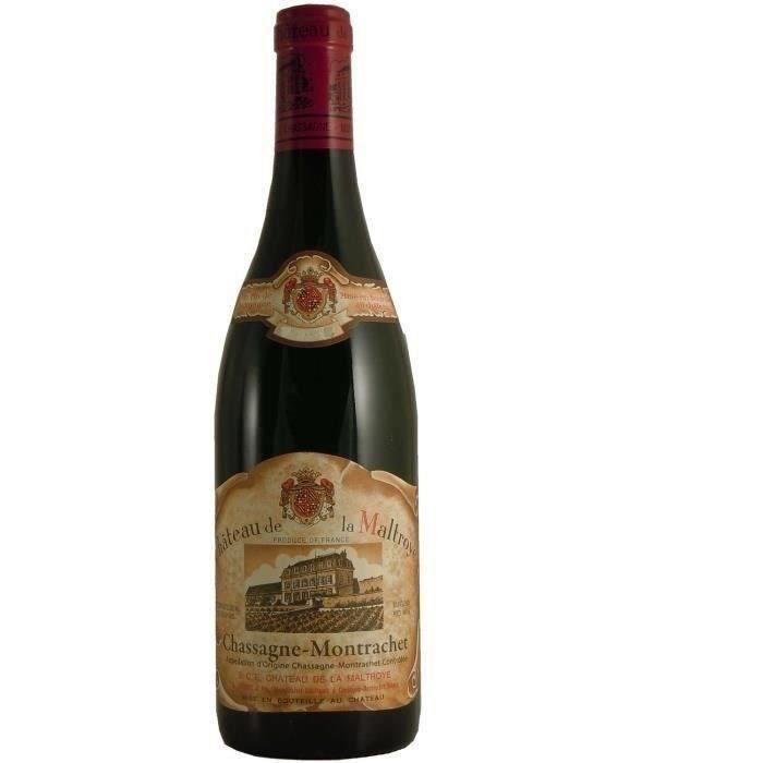 Château de la Maltroye 2017 Chassagne Montrachet - Vin rouge de Bourgogne