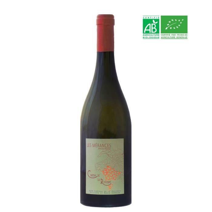 Château de la Roulerie Les Mérances 2017 Anjou - Vin rouge de Loire - Bio