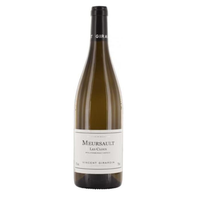 Vincent Girardin Les Clous 2017 Meursault - Vin blanc de Bourgogne