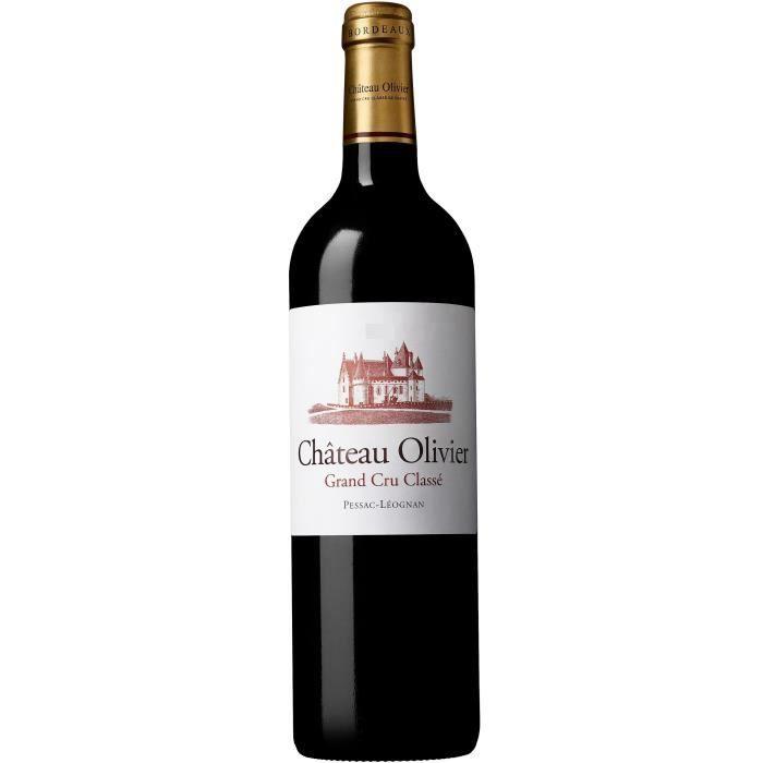 Château Olivier 2017 Pessac-Léognan Grand Cru Classé - Vin rouge de Bordeaux