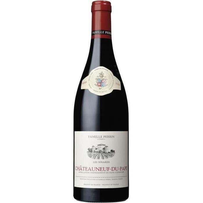 Famille Perrin Les Sinards 2017 Châteauneuf du Pape - Vin rouge des Côtes du Rhône