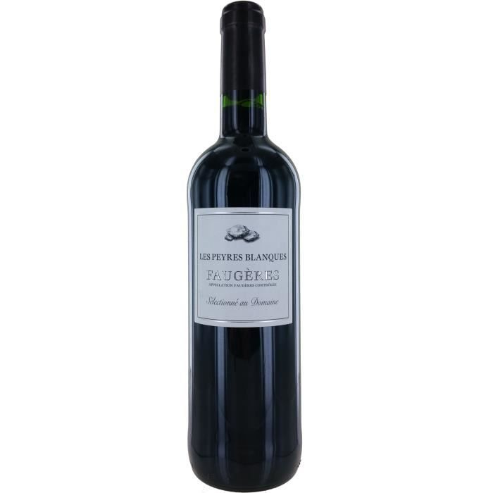 Domaine Les Peyres Blanques 2017 Faugères - Vin rouge du Languedoc-Roussillon
