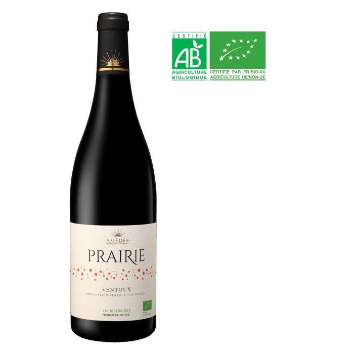Prairie 2018 Ventoux - Vin rouge de la Vallée du Rhône Bio