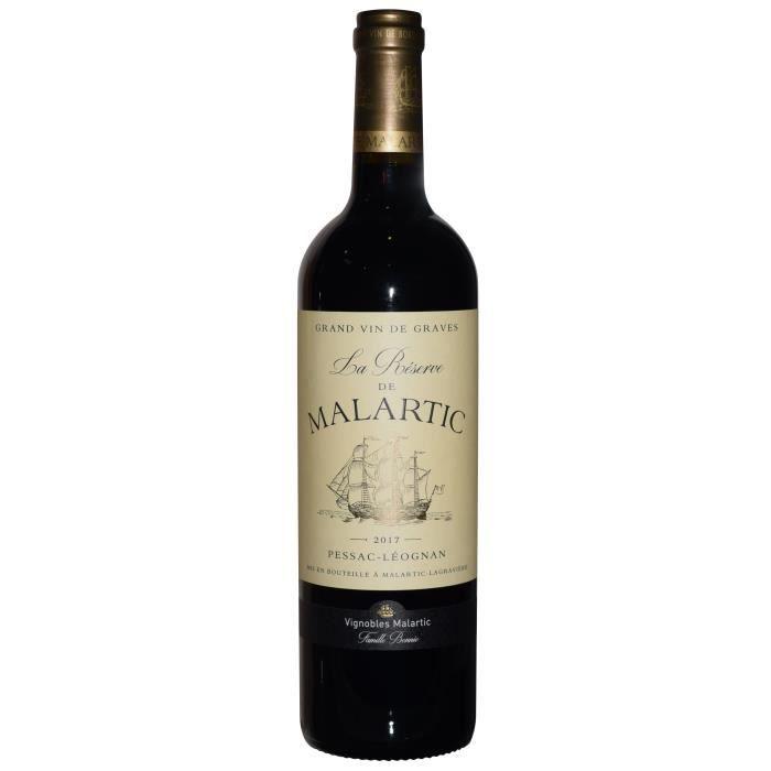 Château Malartic Lagravière 2017 Léognan - Vin rouge de Bordeaux
