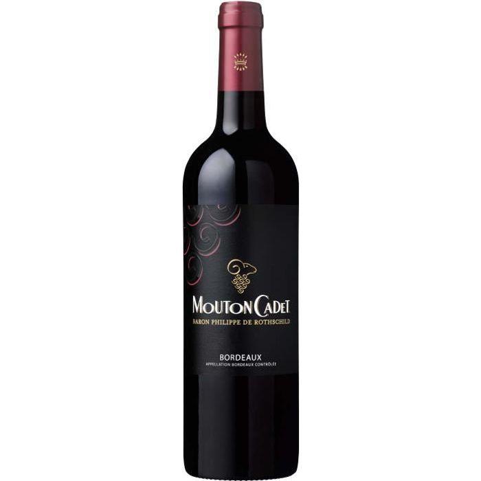 Mouton Cadet Baron Philippe de Rothschild 2017 Bordeaux - Vin rouge de Bordeaux