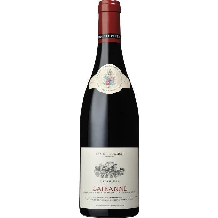 Famille Perrin Les Sablières 2018 Côtes-du-Rhône Villages Cairanne - Vin rouge de la Vallée du Rhône