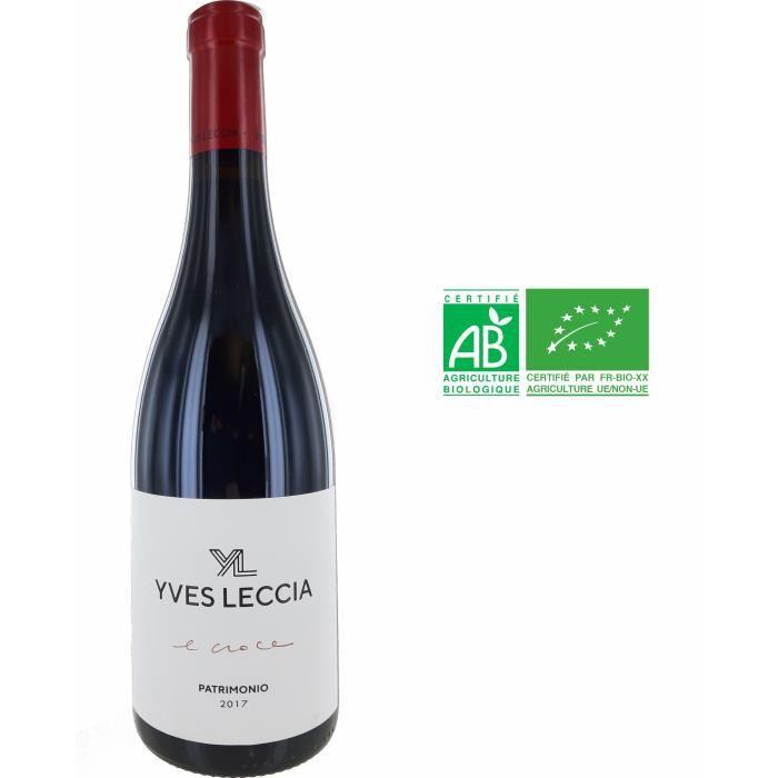 Domaine Yves Leccia E Croce 2017 Patrimonio - Vin rouge de Corse - Bio