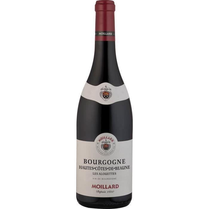 Moillard 2018 Bourgogne Hautes Côtes de Beaune - Vin rouge de Bourgogne