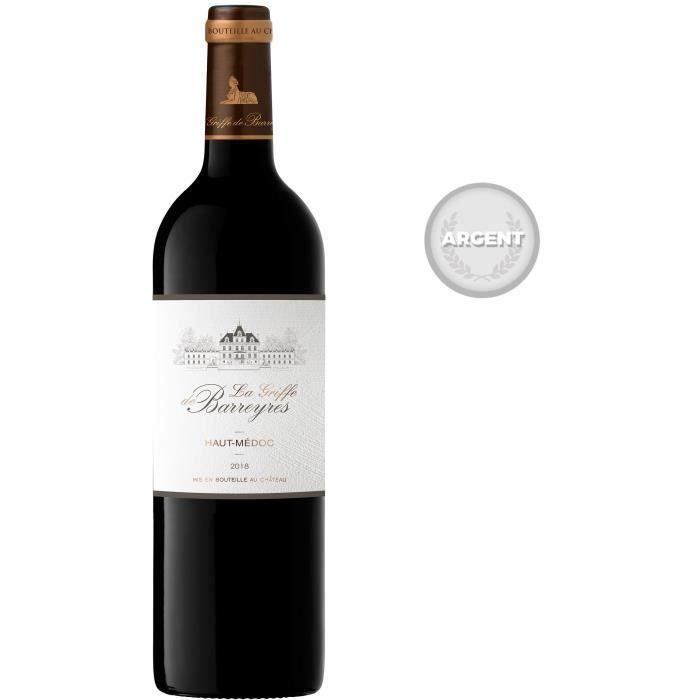 Château La Griffe de Barreyres 2018 Haut-Médoc - Vin rouge de Bordeaux