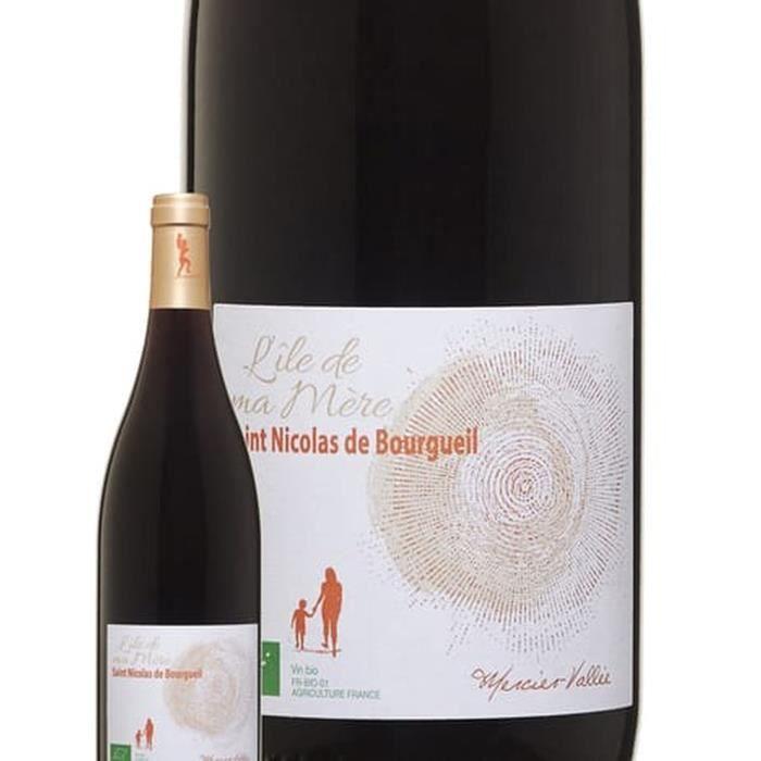 L'Ile de ma Mère 2018 Saint Nicolas de Bourgueil - Vin rouge du Val de Loire - Bio