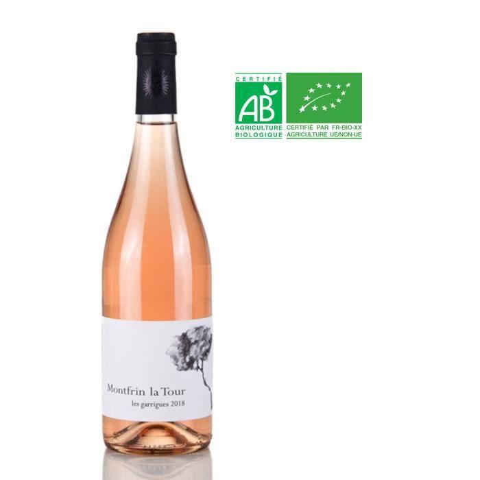 Domaine des Captives 2018 IGP Vin de France - Vin Rosé - Bio
