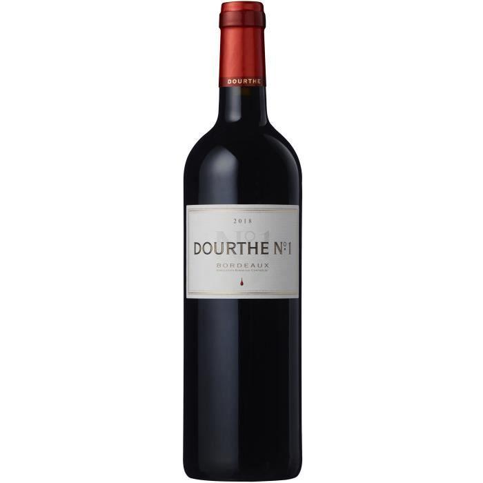 Dourthe N°1 2018 Bordeaux - Vin rouge de Bordeaux
