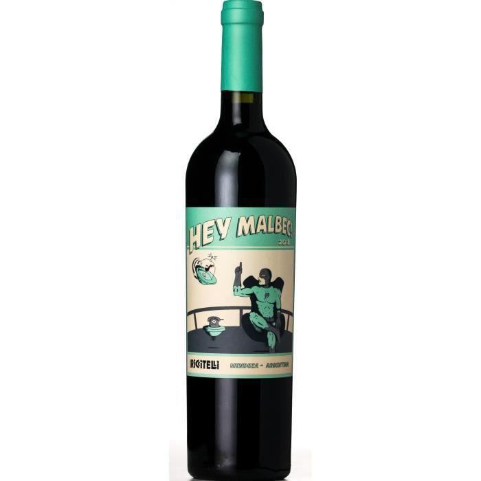 Matias Riccitelli Hey Malbec 2019 Lujan de Cuyo - Vin rouge d'Argentine