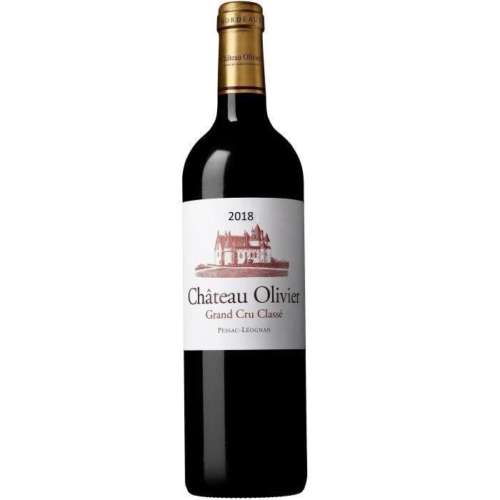 Château Olivier 2018 Péssac-Léognan - Vin rouge de Bordeaux