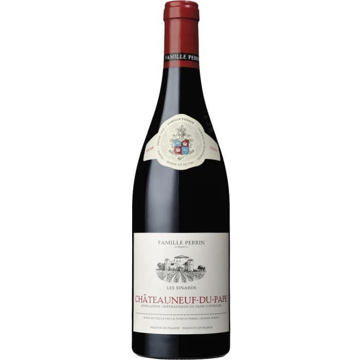 Famille Perrin Les Sinards 2018 Châteauneuf du Pape - Vin rouge des Côtes du Rhône