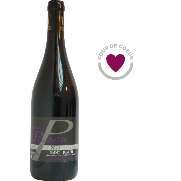 Domaine Pradelle 2018 Saint-Joseph - Vin rouge de la Vallée du Rhône